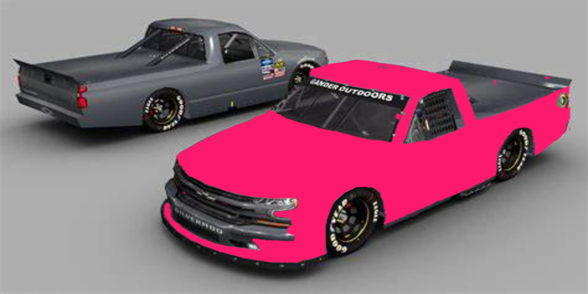 2020 CHEVY NASCAR TRUCK SMALL